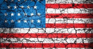 fractured flag